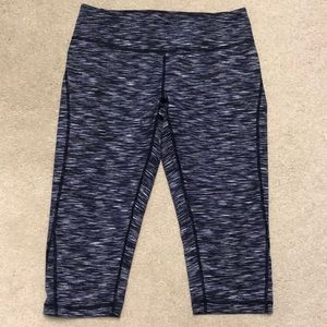 Zella high waist cropped leggings. Two pair.